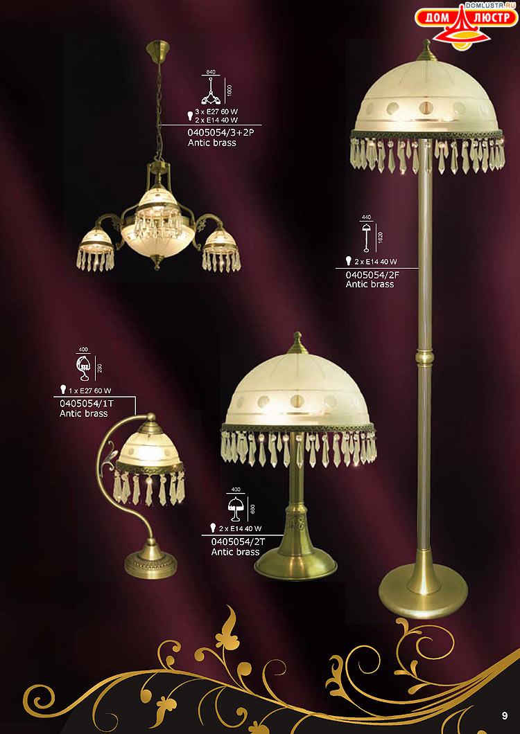 люстры бра настольные лампы