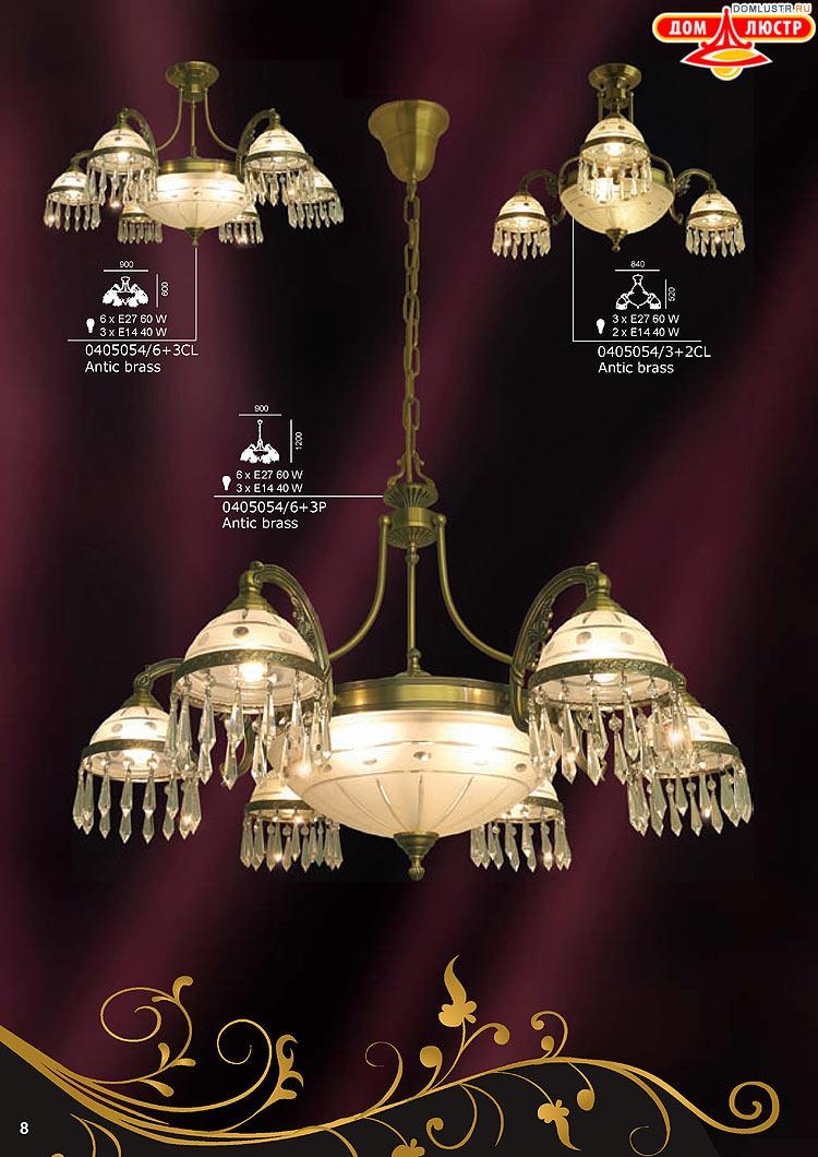 Люстры, светильники, бра, настольные лампы, торшеры и ...